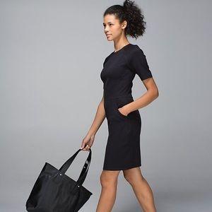 Lululemon black power date scuba dress 2